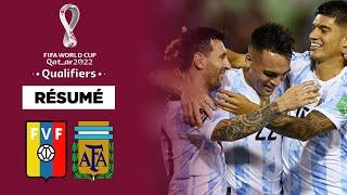 Résumé : L'Argentine assure le spectacle contre le Venezuela, frayeur pour Messi !