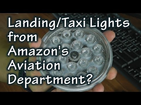 Aircraft Landing Lights from Amazon's Aircraft Department