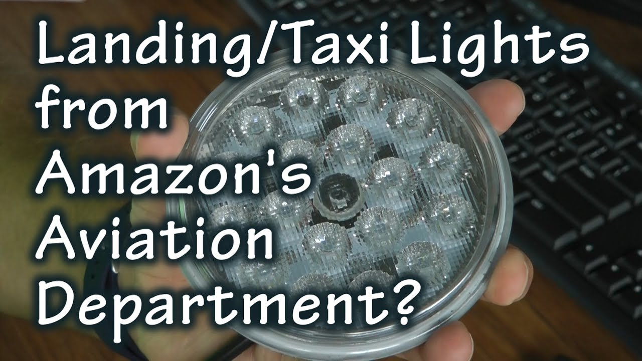 Aircraft Landing Lights from Amazon's Aircraft Department
