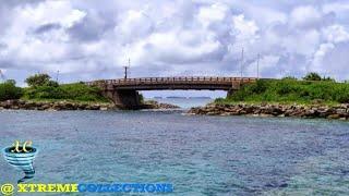 Majuro Bridge in Majuro, Marshall Islands
