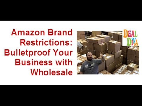 Amazon Brand Restrictions and how to Protect Yourself