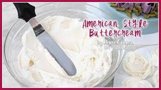 American Buttercream Recipe  Renee Conner