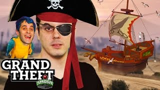 PIRATES - FOR THE LOVE OF BOOTY (Grand Theft Smosh)