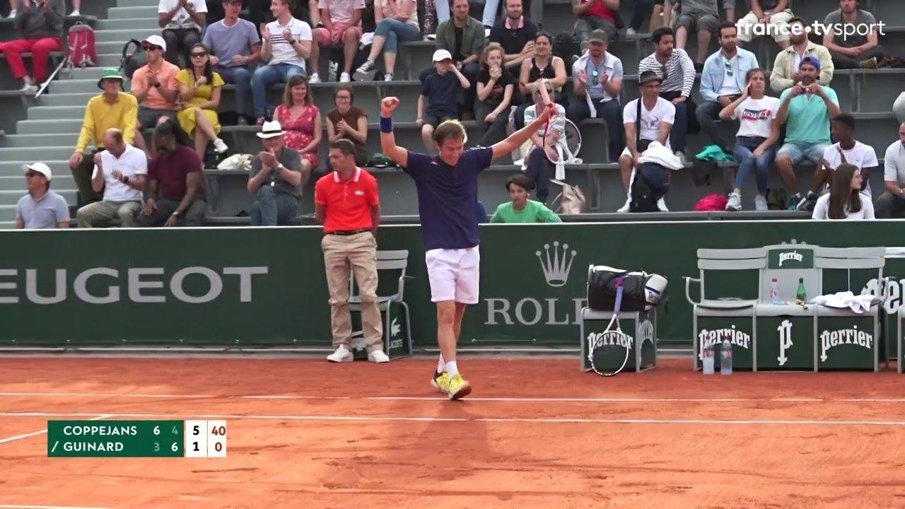 Roland Garros 2019 Manuel Guinard Elimine Aux Portes Du Tableau Principal Youtube
