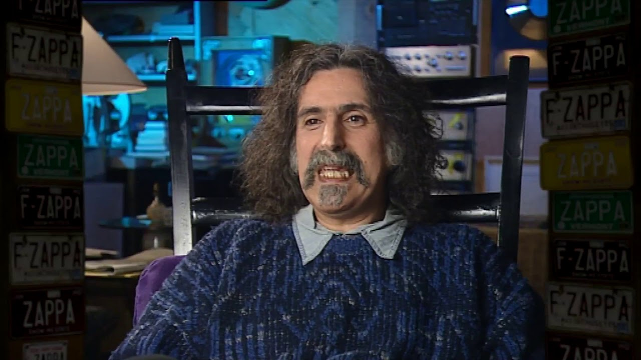 """FRANK ZAPPA; """"Turgid Flux""""- Comments on American TV Culture (1991)"""