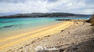 beach Tartanovo, Pag, island Pag, Croatia