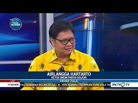 Soal Cawapres, Airlangga: Biarkan Jokowi yang Memutuskan