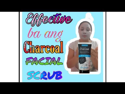 CHARCOAL FACIAL SCRUB| EFFECTIVE OR NOT?!
