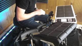 Roland BT-1 Performance Example (8) SPD-SX & SPD-30