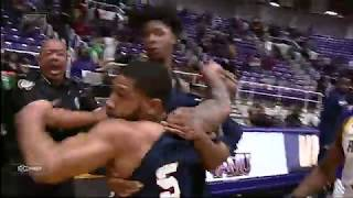Crazy Fight breaks out between Prarie View and Jackson State during Handshakes Line