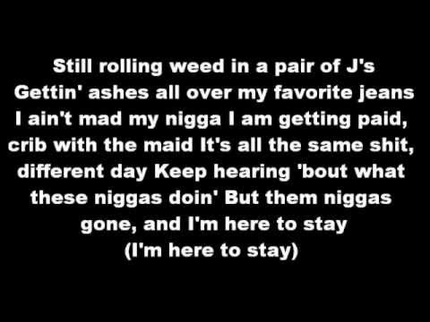 The Bluff - Wiz khalifa Lyrics