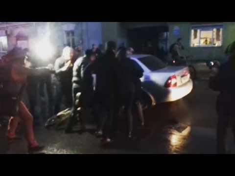 Брутальныя затрыманні ў Магілёве на маршы недармаедаў I Протест нетунеядцев в Могилеве задержания