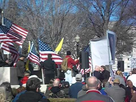 Guns Protest In Springfield Illinois