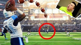 YOU WONT BELIEVE HOW THIS GAME ENDS! *HAIL MARY* Madden NFL 18 Ultimate Team #3 2017 Video