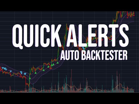 Quick Alerts For TradingView -  New Strategy Automatic Backtesting Released!
