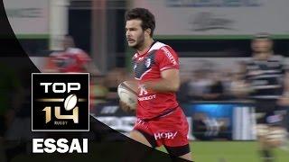 TOP 14 ‐ Essai Arthur BONNEVAL (ST) – Brive-Toulouse – J20 – Saison 2016/2017