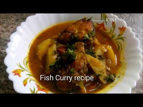 Traditional Bengali Fish curry recipe with potatoes and tomatoes by Geetashree's cooking channel