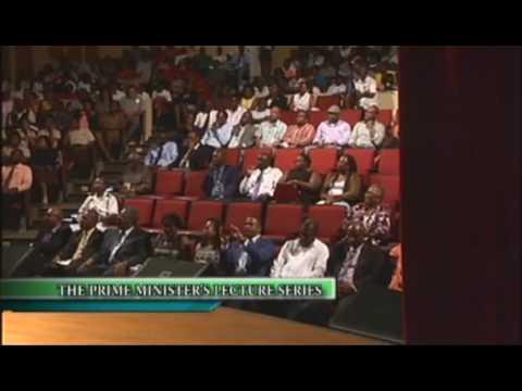 prime minister lecture