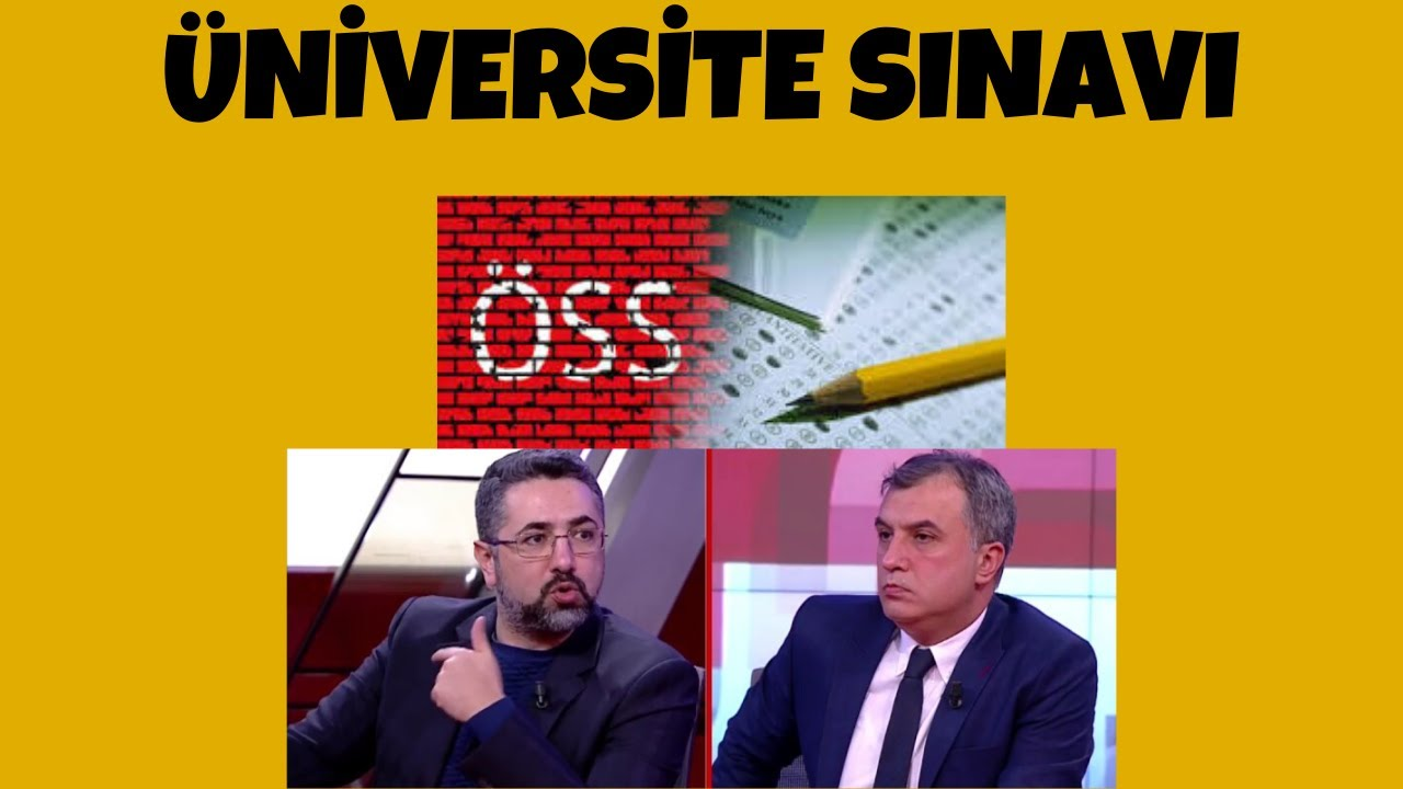 Serdar Ali Çelikler - Üniversite Sınavı