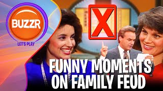Family Feud - FUNNIEST Game Show Moments EVER | BUZZR