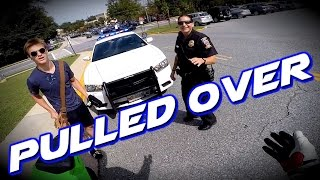 Pulled over by the Coolest Female Cop Ever!!! / Mini Joe #14