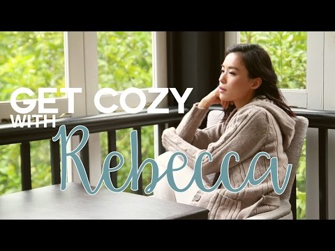 Get cozy with Rebecca Lim!