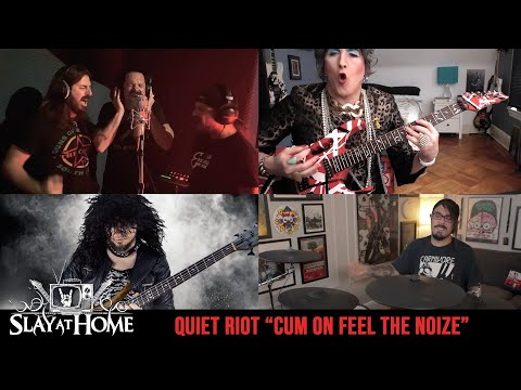 JOB FOR A COWBOY + NIGHT DEMON + MRS. SMITH Covers QUIET RIOT| Metal Injection