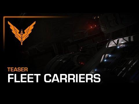 Elite Dangerous Fleet Carriers announced for December 2019