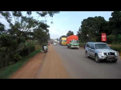 Kampala - Jinja Road August 2014
