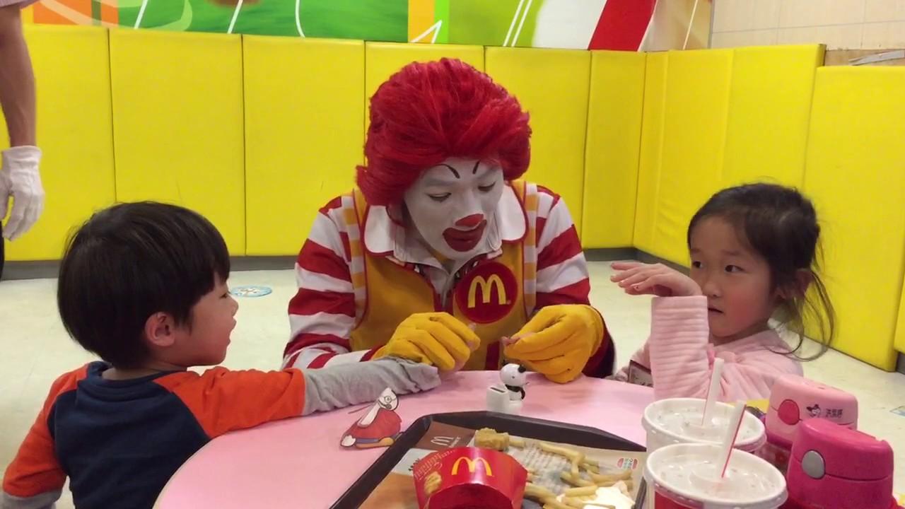 麥當勞叔叔見面會 - YouTube