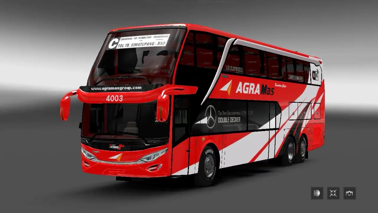 Jetbus 2 SDD Agra Mas Livery Double Decker YouTube