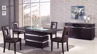 Modern Contemporary Glass Dining Table Design Ideas