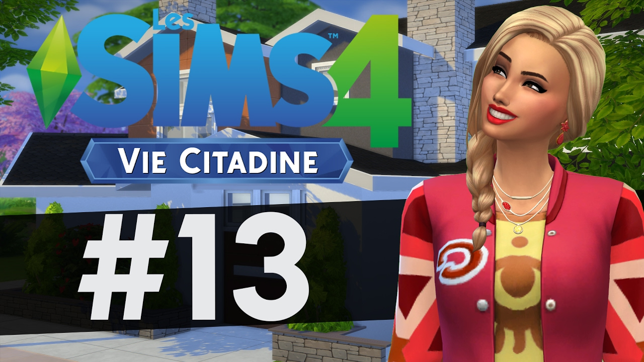 let 39 s play les sims 4 vie citadine 13 andrea youtube. Black Bedroom Furniture Sets. Home Design Ideas