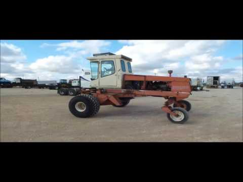 Hesston 6600 self-propelled swather for sale | sold at auction February 10,  2016