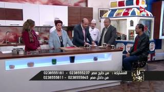 كل يوم - شاهد هزار عمرو اديب مع الحج يوسف صاحب كشري ابو طارق