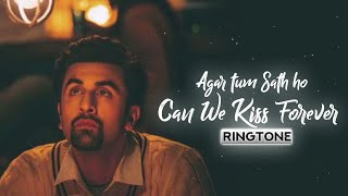 CAN WE KISS FOREVER X AGAR TUM SATH HO Ringtone❤✨| Sush yohan remix |Download Now!