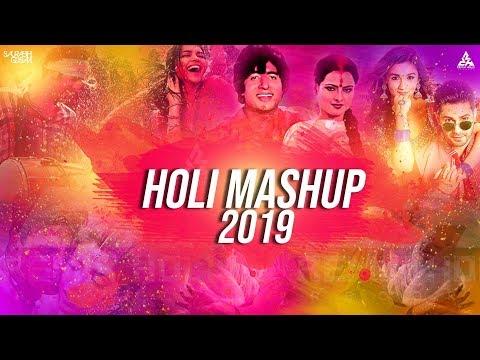 Bollywood Holi Mashup 2019 Saurabh Gosavi | Latest DJ Songs Remixes 2019