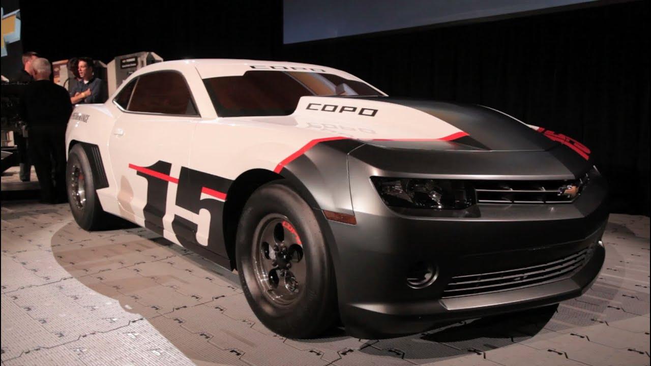 2015 Chevrolet Copo Camaro 2014 Sema Show Youtube