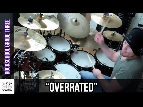 """""""Overrated"""" Rockschool Grade 3 @ Dunx Drum School"""