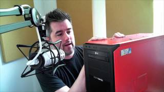 new desktop goodies from ibuypower and corsair unboxing and demo