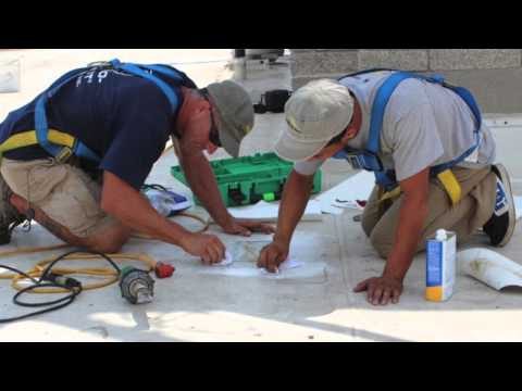 Flat Roof Repairs by Indiana Roofing Contractor