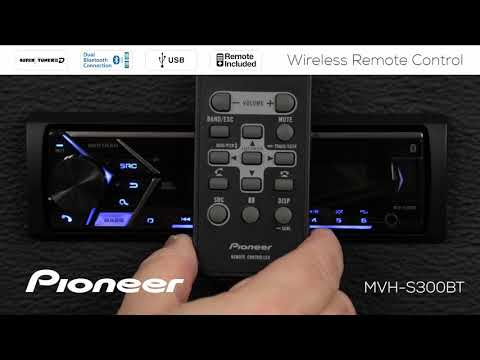 Pioneer QXE9605 Car Stereo Replacement Remote Control for Select DEH Receivers