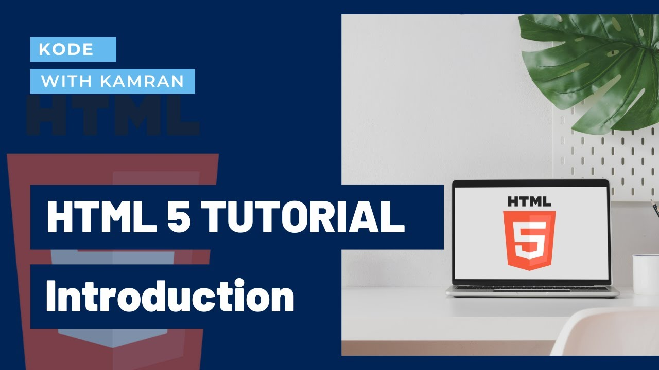 HTML Tutorial 01 - Introduction to HTML   Your first Web page