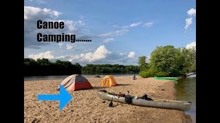 Wisconsin river canoe river camping adventure!