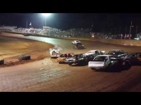 Moulton Speedway 8/27/16 Feature  Mini Stock