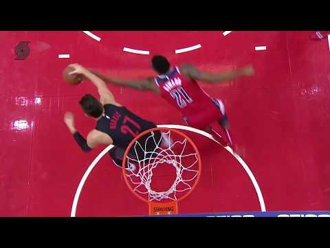 Jusuf Nurkic (13 pts, 14 reb, 8 ast) vs. Washington Wizards | November 18, 2018