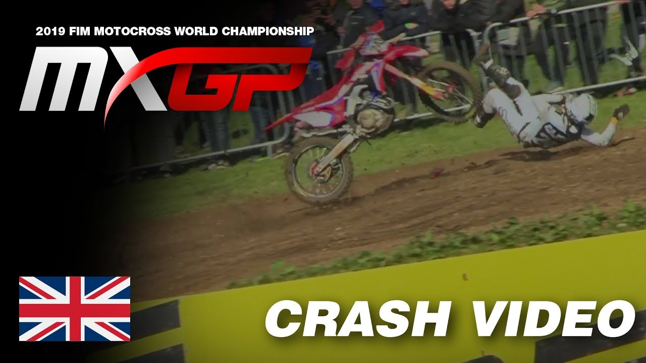 Tim Gajser's huge crash from Matterley Basin