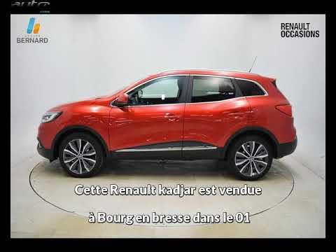 Renault kadjar occasion visible à Bourg en bresse présentée par Renault bourg en bresse