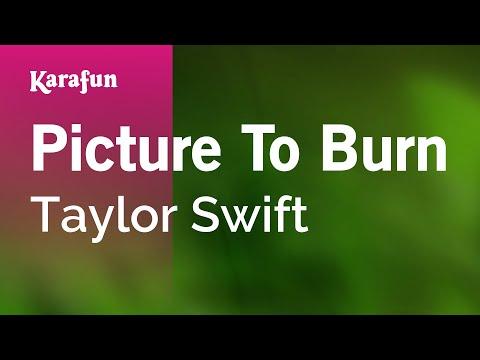 Karaoke Picture To Burn - Taylor Swift *