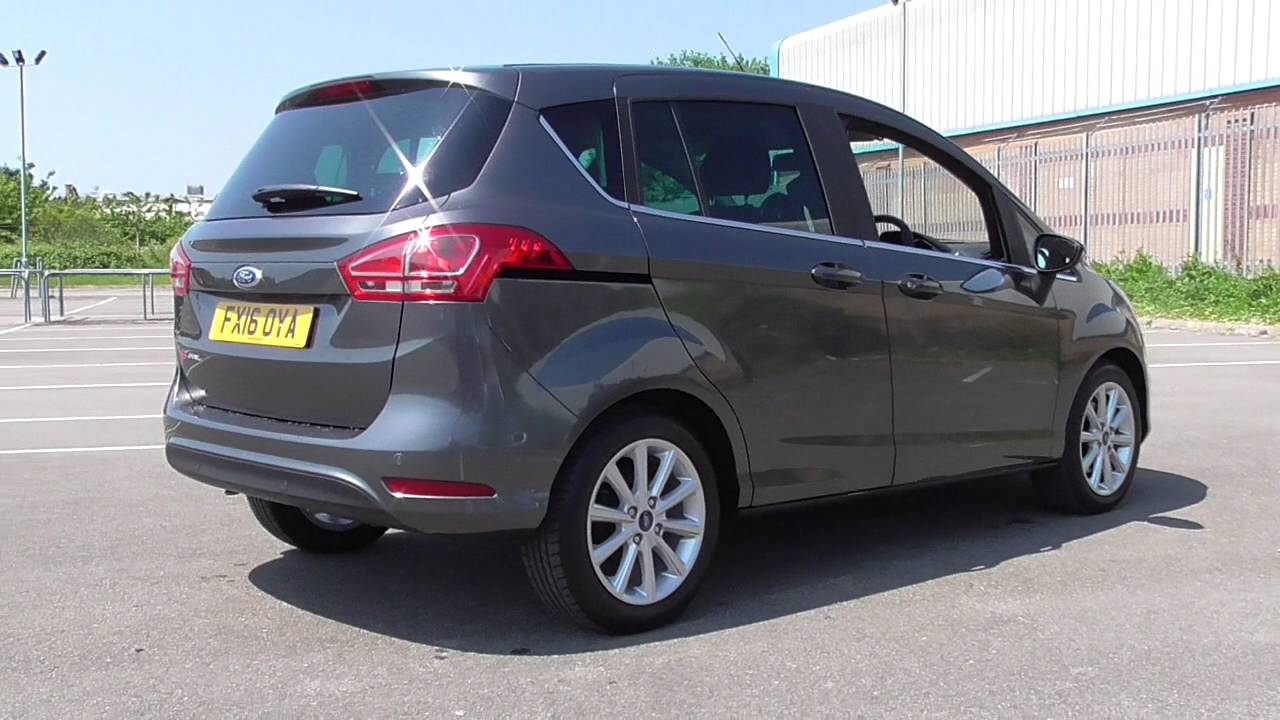 ford b max 004 5 door titanium 1 6 105ps powershift 2016 u109791 youtube. Black Bedroom Furniture Sets. Home Design Ideas